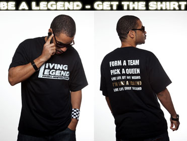 living legends shirt shop HOME